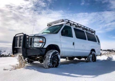 2014 E350 Quigley 4×4 conversion van