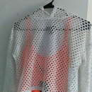 Forever 22 white mesh hoody size small