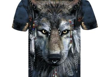 Mens Wolf T-Shirt