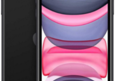 A NEW BLACK IPHONE 11