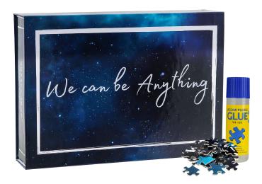 "Jigsaw Puzzle 1000 Pieces with Puzzle Glue, Eco-Friendly, 27.56"" x 19.69"" / 70cm x 50cm"