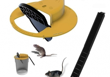 BIG OFFER Mice Trap Reusable Smart Flip