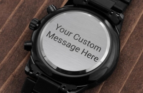 Father's Day Watch | Add Your Own Message For Your Dad