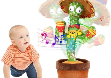 Lovely Dancing Cactus Talking Song